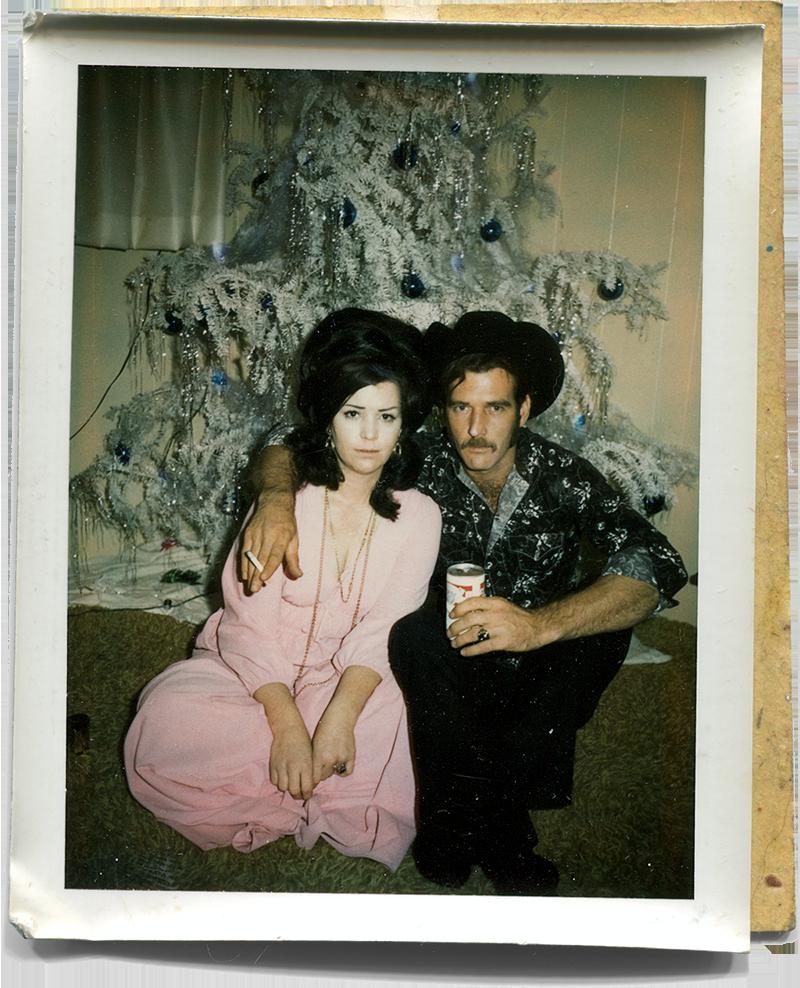Mom & Marlboro Man, 1974.