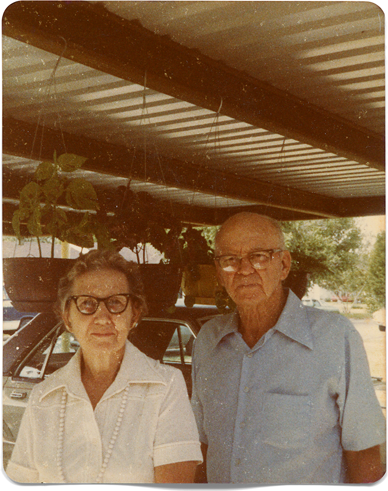 Paternal grandparents, Lucille & Guido