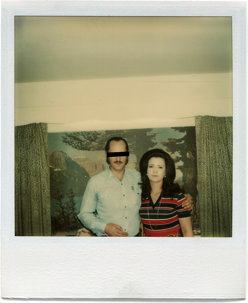 Donny and Mom, 1975.